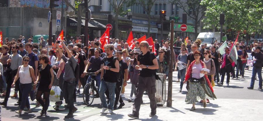 La manifestazione del 14 giugno a Parigi, foto di Patrick Janicek (CC BY 2.0)